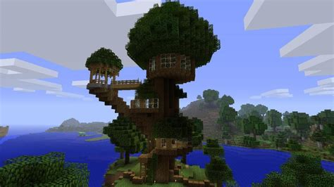 minecraft tree house minecraft treehouse google search minecraft pinterest minecraft ideas