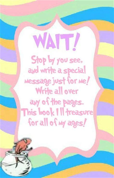 What Do You Write In A Baby Shower Book by 25 Best Ideas About Baby Shower Guestbook On