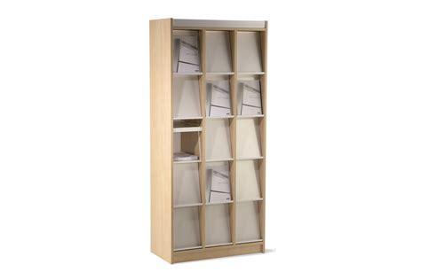 Magazine Cabinet by Unifach Magazine Display Cabinet