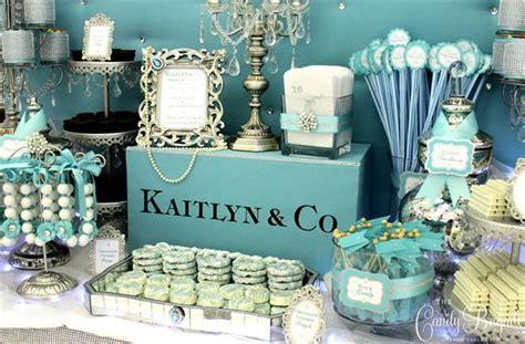 Outdoor Event Decoration Ideas Tiffany Blue Candy Buffet Sweet Sixteen