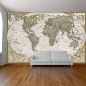 Wall Mural Maps Download World Map Wallpaper Murals Gallery