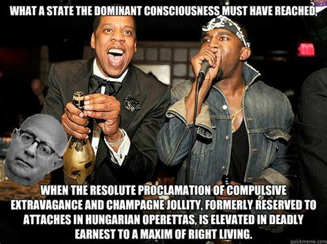 Kanye And Jay Z Meme - jay z kanye west adorno memes quickmeme