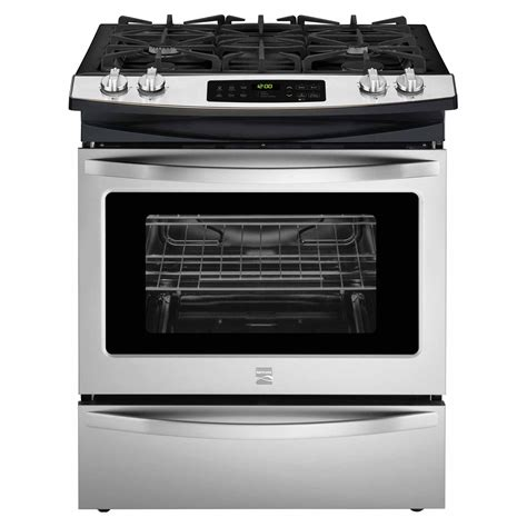 What Is A Gas Range Stove by Kenmore 32603 4 5 Cu Ft Slide In Gas Range Stainless Steel