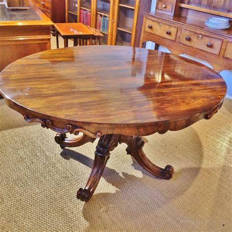 Antique Rosewood Dining Table Rosewood Dining Table Antiques Atlas