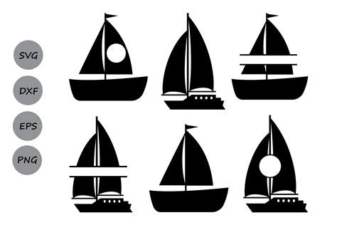 sailboat monogram clipart boat svg cut files sailboat monogram s design bundles