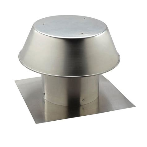bathroom fan roof cap broan nutone aluminum flat roof cap for 12 in round duct