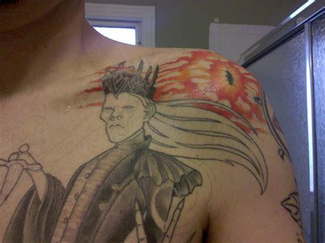 eye of sauron tattoo tattoos loki s venom