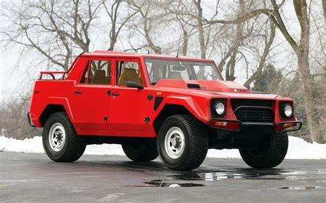 off road car lamborghini lm002 rare 4x4 suv off road wheels