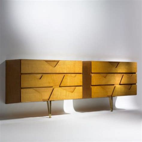 gio ponti wall mounted dressers for giordano chiesa