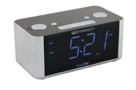 emerson cks1708 smart set radio alarm clock new ebay