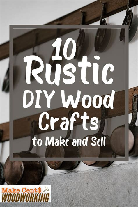 rustic diy wood crafts    sell easy
