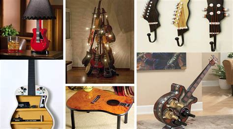 guitar home decor how to repurpose guitars in home decor the art in life