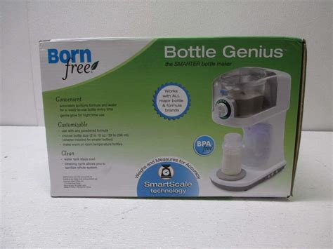 born free bottle genius born free 47563 bottle genius bottle maker