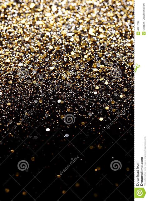 christmas  year black  gold glitter background holiday abstract texture fabric stock