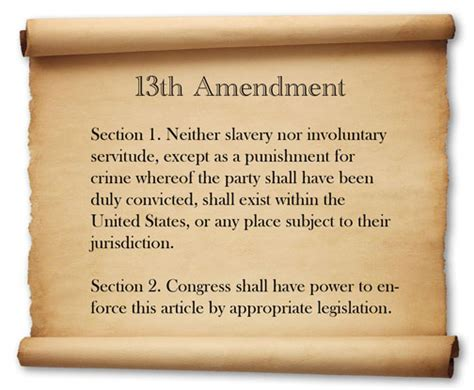 amendment 13 section 1 amend the 13th amendment huffpost