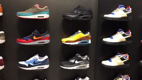 sport shoes store bologna italy december 11 2014 exposition of nike