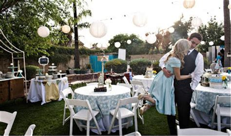 backyard wedding ideas not but not something