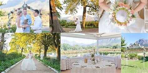 most beautiful wedding venues in western cape venues in the western cape mills photography