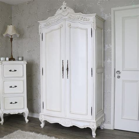 cream armoire wardrobe large antique cream double wardrobe limoges range