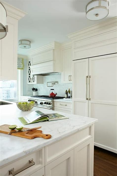 off white kitchen cabinets with quartz countertops off white kitchen cabinets with white marble countertops