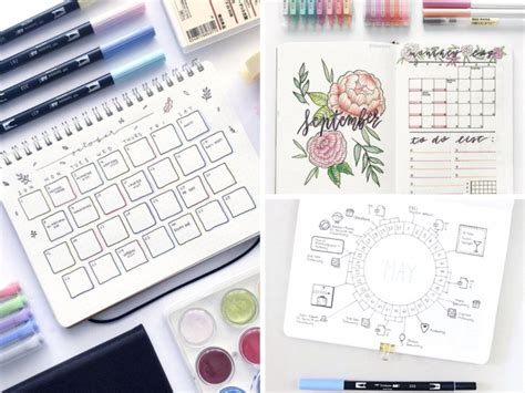 design expert journal 19 bullet journal monthly layout ideas that are beyond