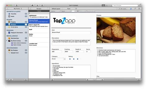 bento template importer tap forms mac 2 0