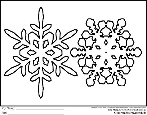 snowflakes coloring pages snowflake coloring page free az coloring pages