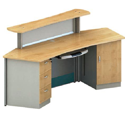 receptionniste de bureau bureau table de comptoir m 233 lamine stratifi 233 r 233 ception