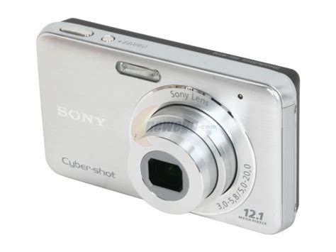 Kamera Digital Sony Cybershot W310 12 1 Mp sony cyber dsc w310 silver 12 1 mp 4x optical zoom