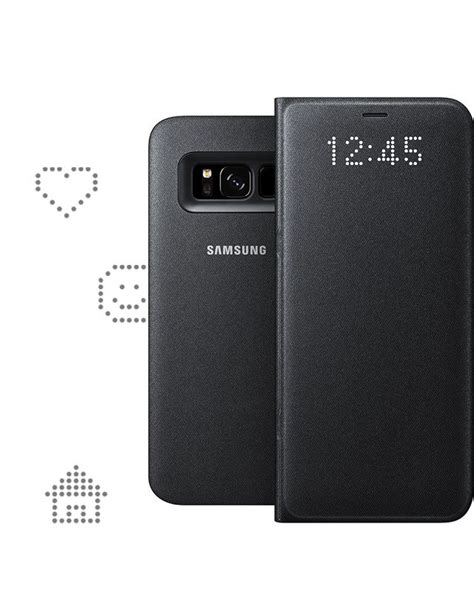 Promo Samsung Galaxy S8 Plus Led View Original Promo Price S8 samsung s8 plus original l e d view cover original type c cable 11street malaysia cases