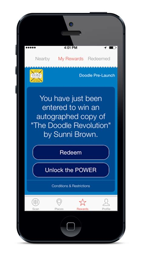 doodle 4 rewards new bestbuzz app rewards customers for scanning images and
