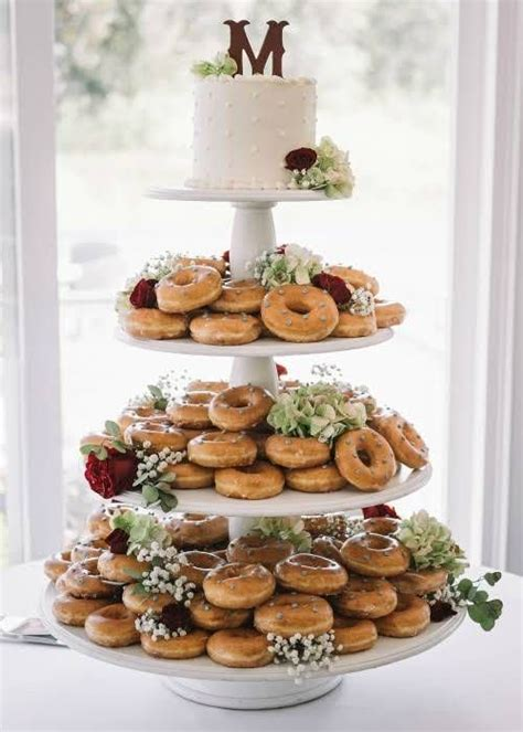Donut Wedding Cake by 9 Stunning Wedding Cake Ideas The Oceanview Of Nahant