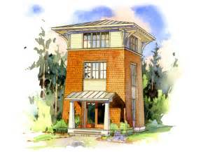 the alder tower house - Tower House Plans
