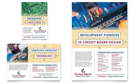 flyer templates engineering flyers computer engineering word templates