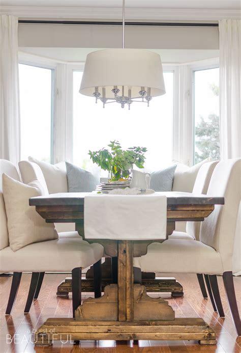 farmhouse dining table plans diy farmhouse dining table plans a burst of beautiful