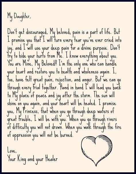 thank you letter to my daughters tag archives letter from jesus