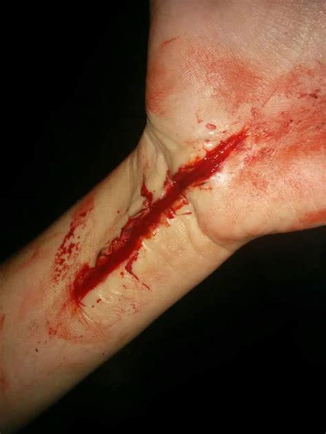 Cut Arm by Sfx Cut On Arm By Afitzy27 On Deviantart