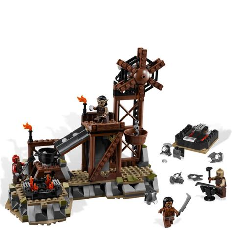 lego lord of the rings the orc forge 9476 toys thehut