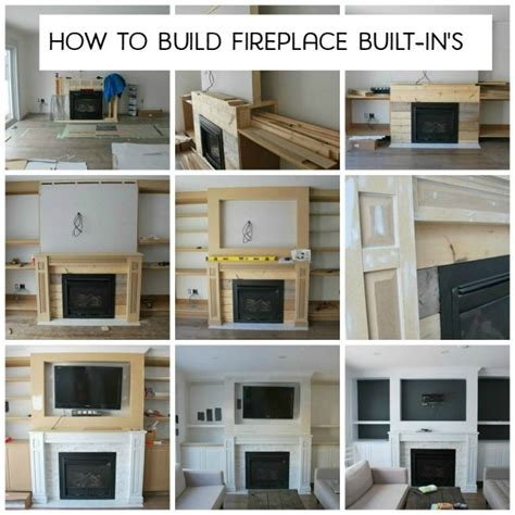 fireplace with shelves 17 best ideas about tv fireplace on tv