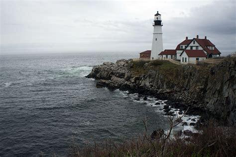 le phare de portland maine carte postale romantique