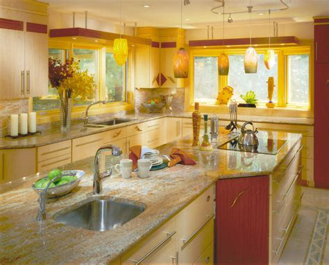 Yellow Kitchen Design Yellow Kitchens
