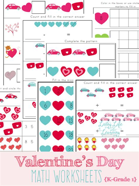 free printable worksheets valentine s day grocery store math worksheets free free valentine s day
