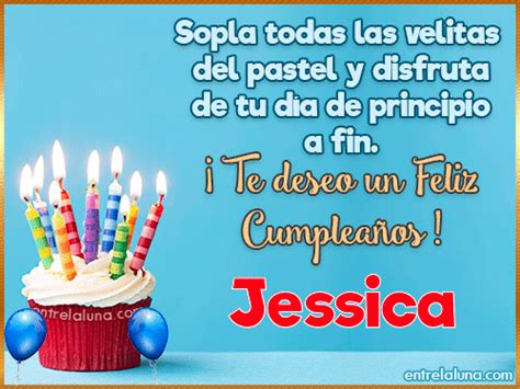 imagenes de cumpleaños para jessica 14 gifs de cumplea 241 os con nombre para jessica