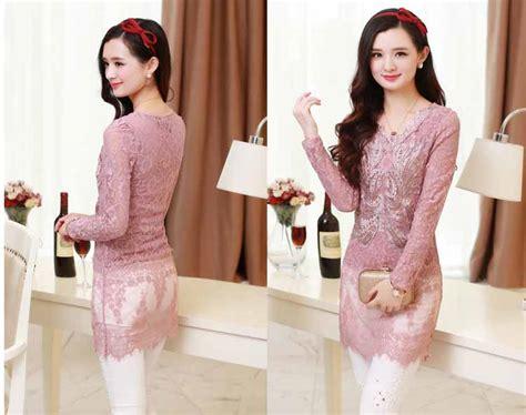 Blouse Brokat Import 1 blouse brokat modern import 2016 toko baju wanita murah goldendragonshop