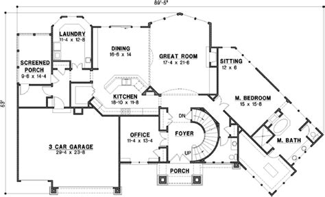 home plans homepw76585 3 677 square feet 4 bedroom 3 house plan 4 bedrooms 3 bath 3709 sq ft plan 21 677