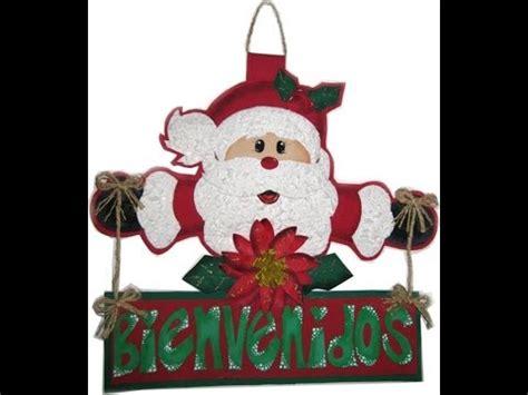 muecos de navidad en foami mu 241 ecos navide 241 os en foami navidad en foami manualidades
