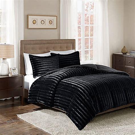 cal king bedroom sets black buy park duke faux fur king california king