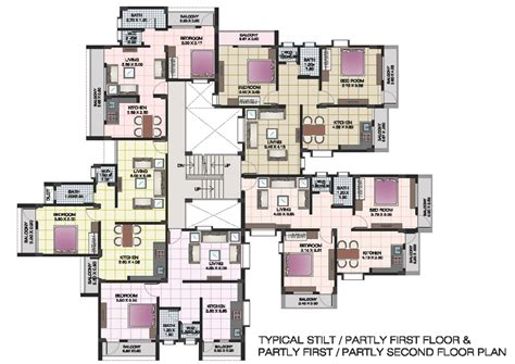 in apartment house plans apartment structures apartment floor plans of shri