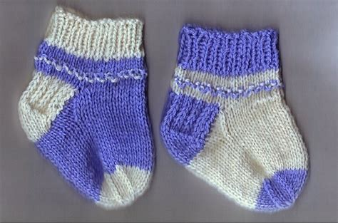 knitting pattern infant socks newborn sock pattern knitting bee