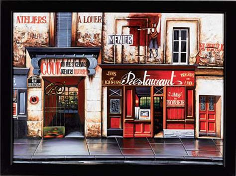 red restaurant painting red restaurant paintings